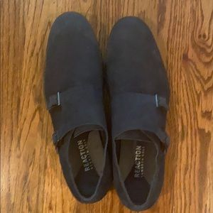 Blue leather shoes Kenneth Cole Reaction